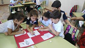 Los alumnos de 1° nos hemos iniciado en el trabajo cooperativo.