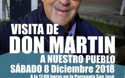 D. MARTÍN, SALESIANO SDB, VISITA SAN JOSÉ DEL VALLE