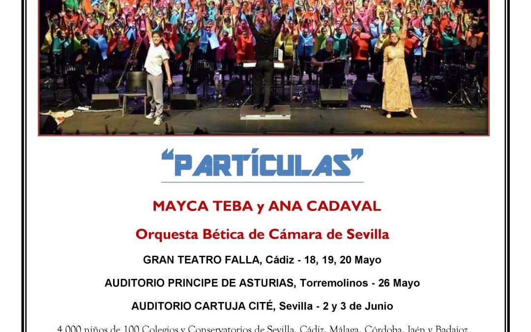 Nuestros Alumnos Participan En: Cantania Andalucía 2018