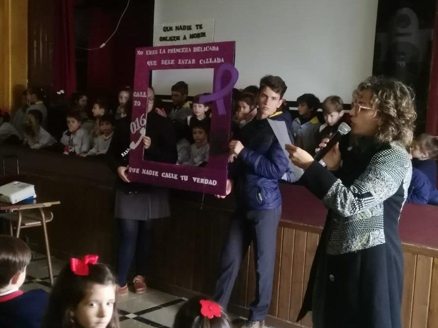 """""""NO MIRES AL OTRO LADO"""" Celebración Día 25N"""