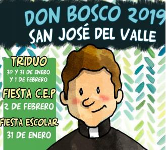 Tríptico actividades Don Bosco